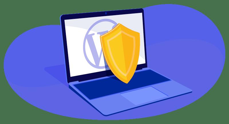 Secure WordPress website 2021